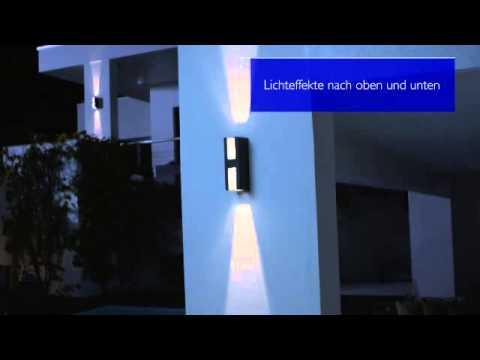 philips ledino led wandleuchte youtube. Black Bedroom Furniture Sets. Home Design Ideas