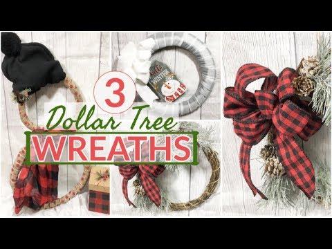 EASY CHRISTMAS WREATHS | DOLLAR TREE CHRISTMAS DIY |  ULTIMATE CHRISTMAS WREATH