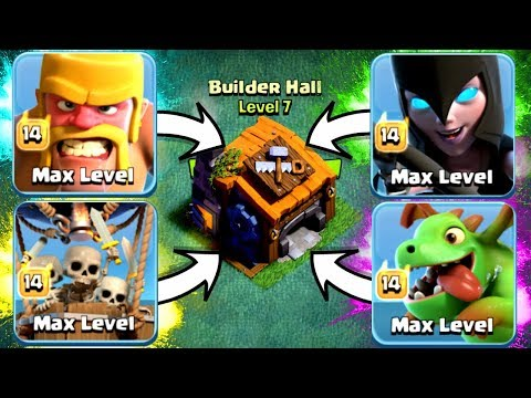 SIRI CHOOSES MY BUILDERS HALL 7 ARMY!! AND WINS!!! - Clash Of Clans