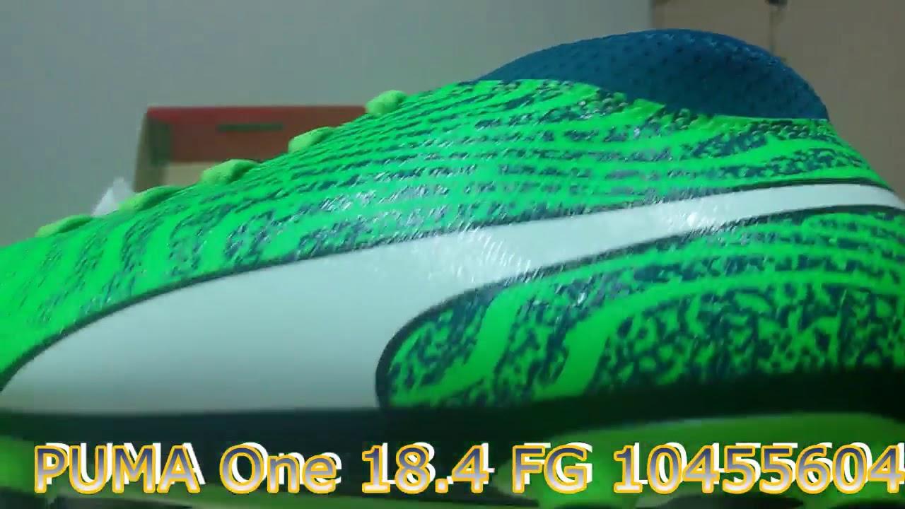 Unboxing Review Sepatu Bola PUMA One 18.4 FG 10455604 by sepatu keren