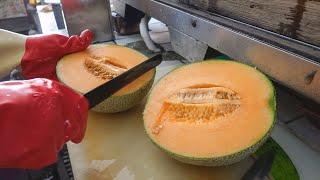 Taiwanese Street Food - Fruits Cutting Skills / 水果切割技能, 水果切盤