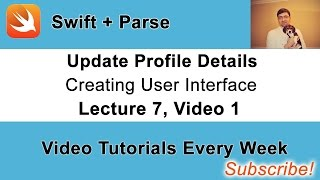 """""""Update User Profile Details"""" - Building User Interface. Video 1"""