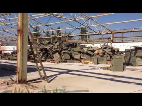 Abandoned military/airbase Croatia/ Zaton