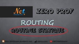 Routage Statique  Route statique flottante #CCNAv5 #darija