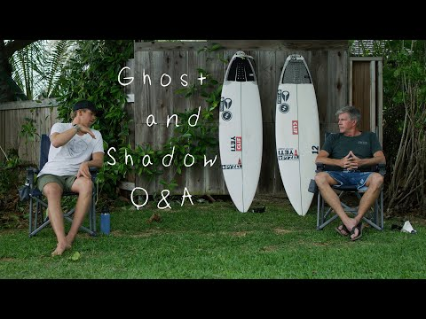 Pyzel and John John on board design || Ghost and Shadow