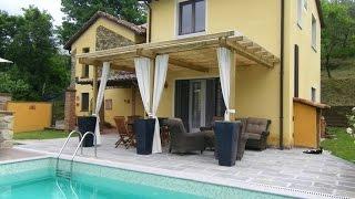 Vakantiehuis met privé zwembad bij Tresana, in Toscane. Prachtig uitzicht op de bergen.