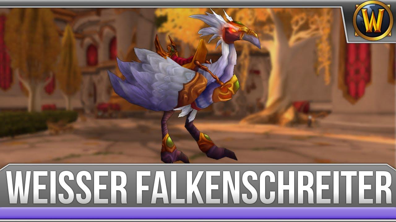 Mount Guide 1 Schneller Weisser Falkenschreiter Deutsch Youtube