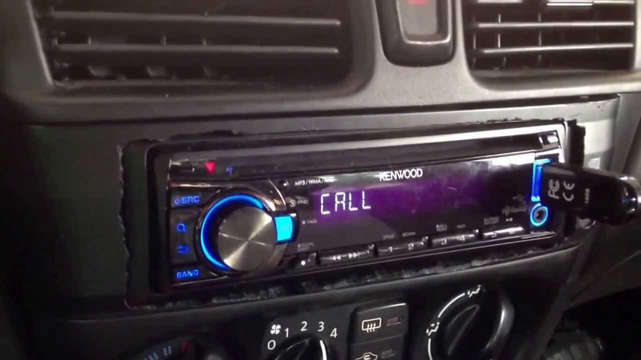 Kenwood Car Radio Call Error