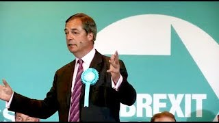 Farage: Sweeping aside a self-serving political system - Brexit Party rally, Wolverhampton
