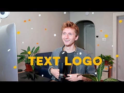 How To Make a Simple Text Logo