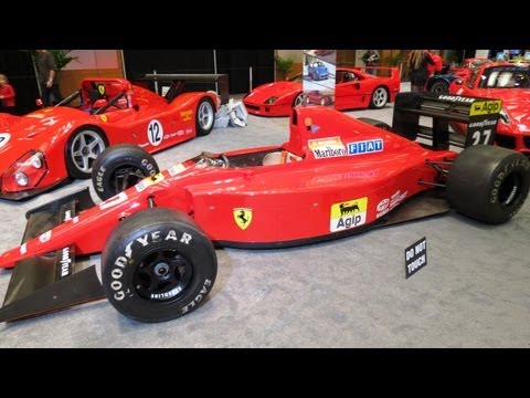1989 Ferrari F1 Race Car At The 2013  Canadian Int Auto Show Toronto