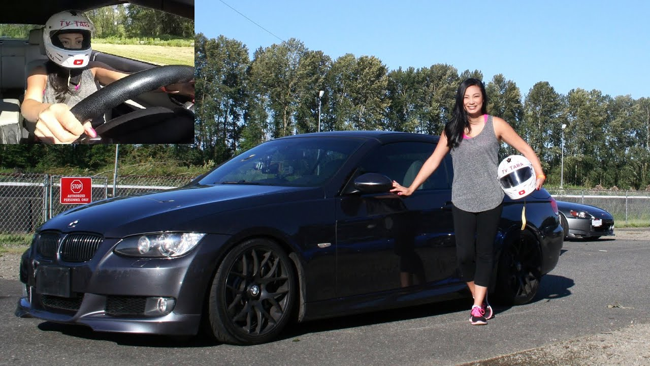 a beginner\u0027s day at the race track girl drives bmw 335i e93 at BMW 335I Twin Turbo a beginner\u0027s day at the race track girl drives bmw 335i e93 at mission raceway
