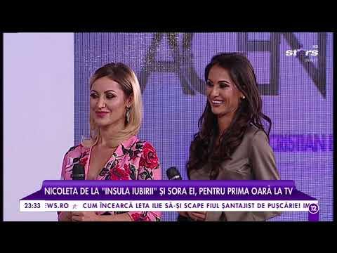 "Nicoleta de la ""Insula iubirii"" și sora ei, prima oară la TV"