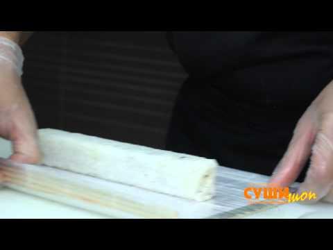 Как приготовить суши (Бонито ролл)