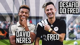 Desafiando David Neres, a promessa do Hexa!