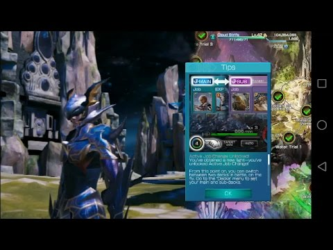Mobius Final Fantasy HD Walkthrough Gameplay Part 76-Active Job Change Unlocked...Great:)!(AG)