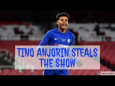 TINO ANJORIN IS THE NEXT BIG THING TO COME THROUGH THE CHELSEA RANKS