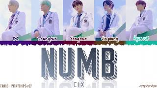 CIX (씨아이엑스) - 'NUMB' (순수의 시대) Lyrics [Color Coded_Han_Rom_Eng]