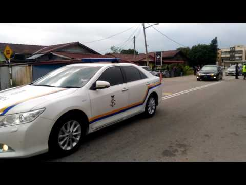 Ketibaan Sultan Johor Di Bazar Ramadhan Segamat 2017