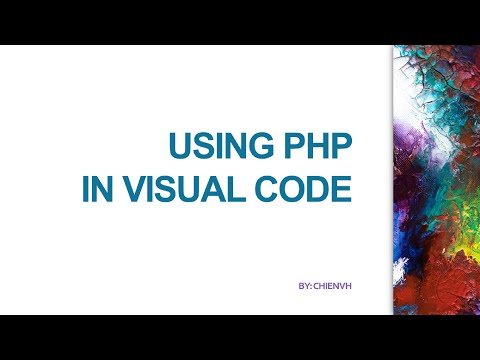 How To Use PHP In Visual Studio Code