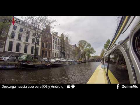 Amsterdam Canals, 4K