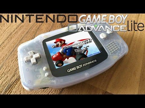 Gameboy Advance Lite Experiment