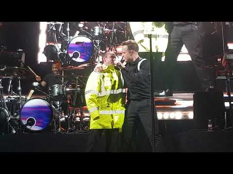 Olly Murs Dance With Me Tonight Haydock August 2017