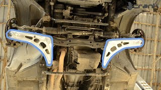 How to Install E46 Control Arms and Angle Plates Kit On The E36
