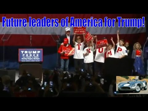 Amazing future young leaders for Trump in Sterling Heights, MI