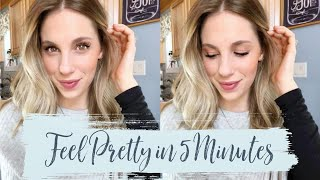 Quick & Easy Everyday Makeup Routine | 5 Minute Makeup