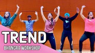 Trend | Sidhu Moosewala | Bhangra Workshop | Folking Desi Masterclass | Latest Punjabi Songs