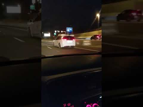 Waymo van self driving down the highway