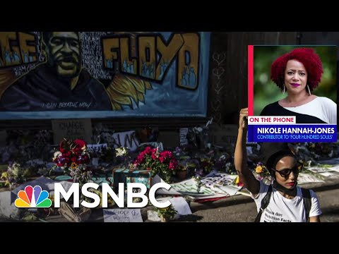 Nikole Hannah-Jones: The America in 1619 Is The Multiracial Country That We Are   MSNBC