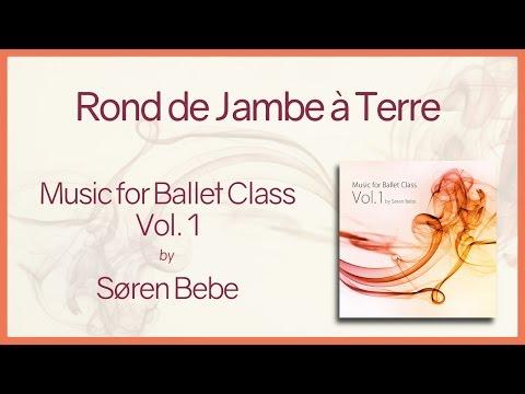 "Music For Ballet Class Vol.1 ""Rond De Jambe à Terre"" - Original Piano Songs By Søren Bebe"