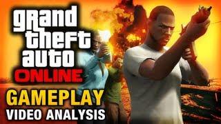 GTA Online - GTA 5 Multiplayer Gameplay Trailer Analysis
