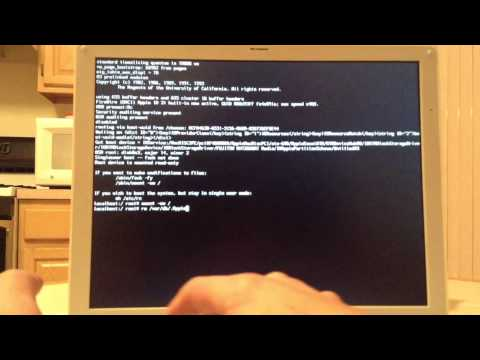 How To Restore An Ibook G4 To Factory Settings (HD)