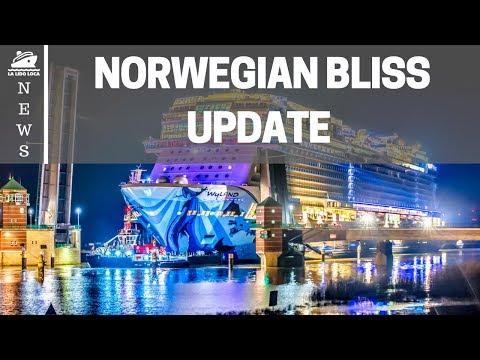 Norwegian Bliss Update 2018 - Off to Sea