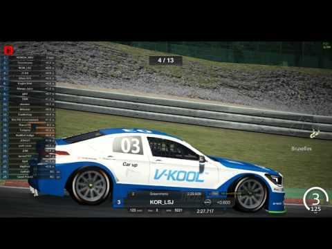 2016 CJ Korea Express Superrace Assetto Corsa Championship S01 R06 Spa
