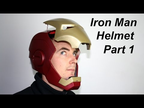 Iron Man Power Suit 39 | Helmet Faceplate | James Bruton