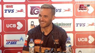 Laurie Evans and Shamsur Rahman Press Conference || 23rd Match || Edition 6 || BPL 2019