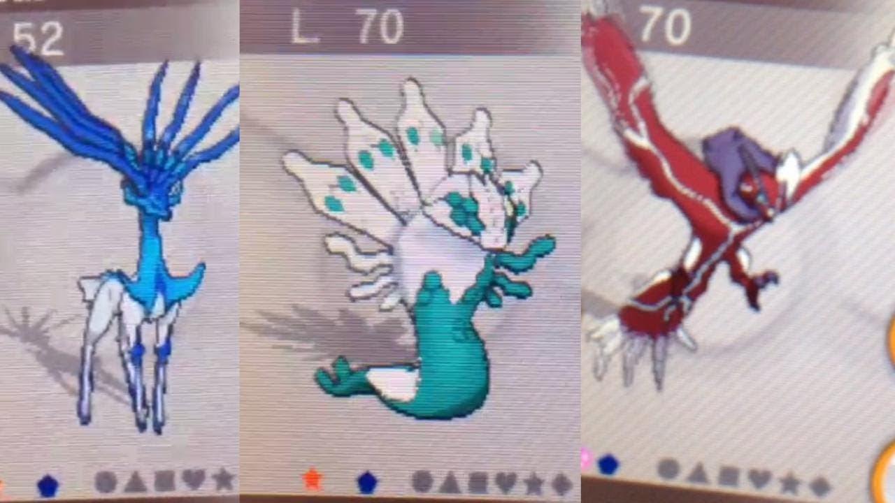 Pokemon x and y legendaries zygarde