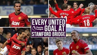 Every United Premier League Goal at Stamford Bridge | Chelsea v Manchester United