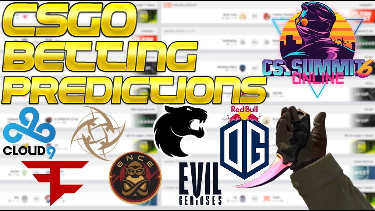 CS:GO Betting Predictions CS_Summit - ENCE, NiP, FaZe, BIG, OG, Evil Geniuses, Gen.G, Cloud9 & MORE!
