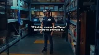 Oculus  x Walmart x Strivr