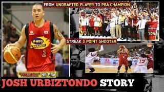 JOSH URBIZTONDO STORY: ANG STREAK 3 POINT SHOOTER NG PBA | FROM UNDRAFTED PLAYER TO PBA CHAMPION