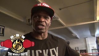 MAYWEATHER SR: FLOYD WOULD BEAT THE F**K OUTTA KEITH THUIRMAN""