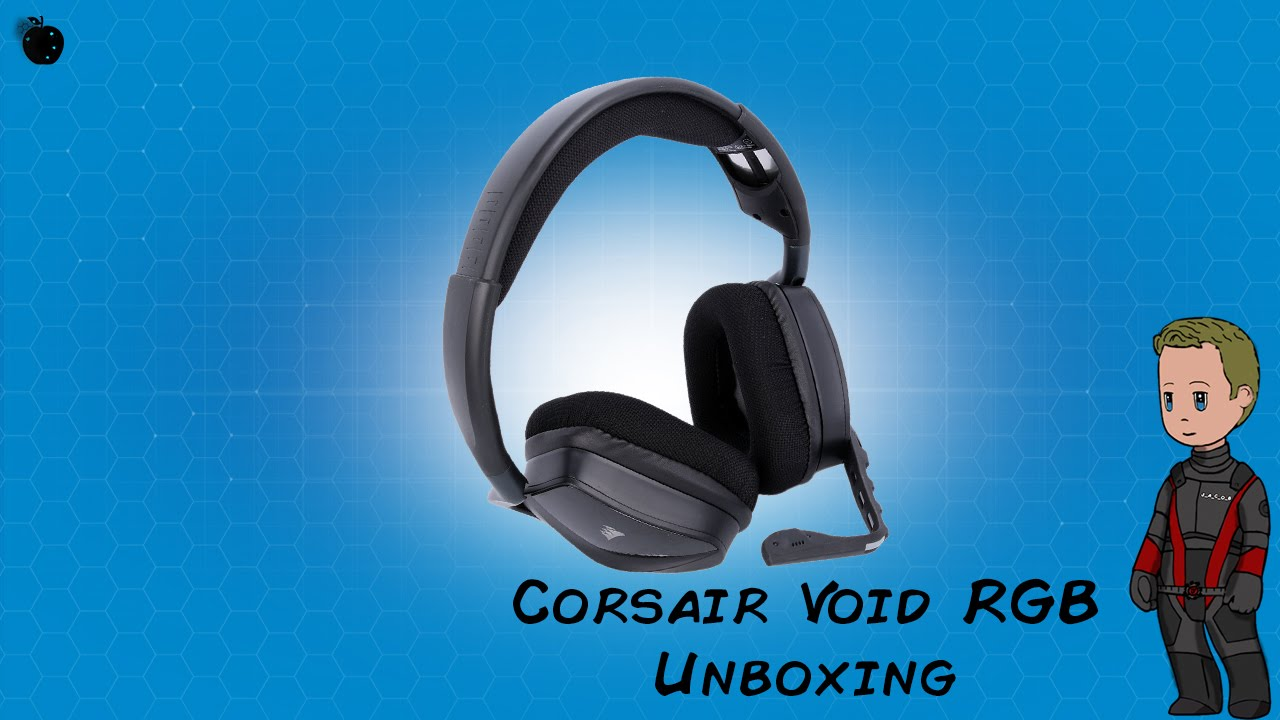 Corsair Void RGB Wireless Headset (Unboxing With Jacob) - YouTube
