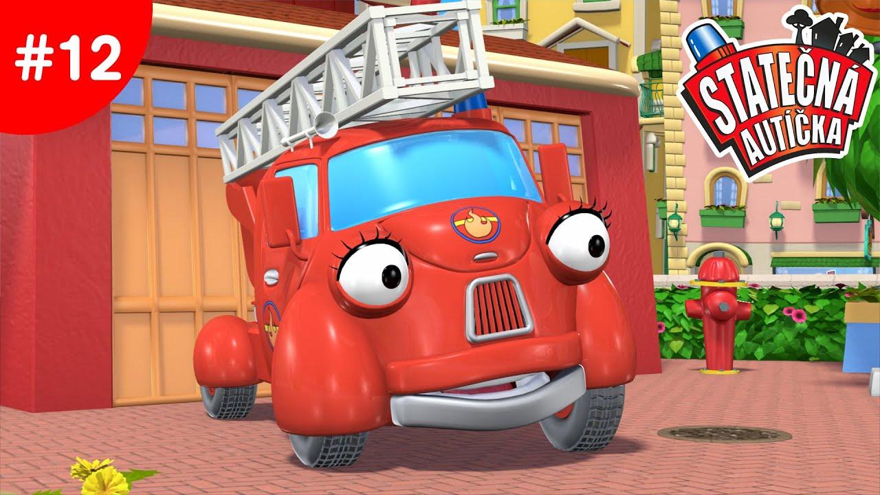 Statečná autíčka - Haniččin volný den | Kreslené pro Děti | Animované pro Děti