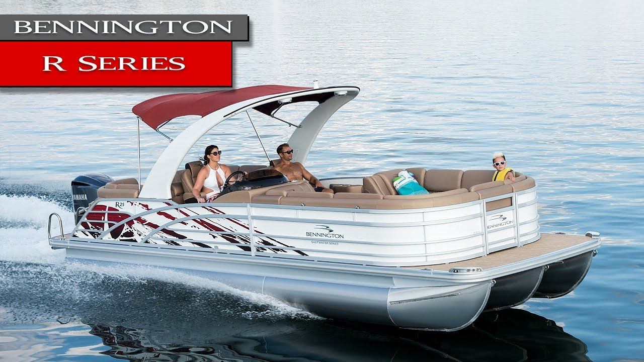 New Bennington R Pontoon Boats R23 R25 2018 Review