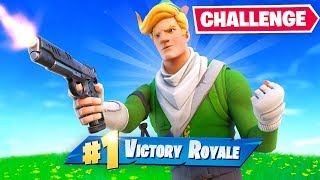 Winning with *ONLY* Pistol Challenge LIVE!